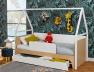 Tiroir de lit Songe 90x190 cm pour le lit cabane Songe. Le lit n'est pas compris avec le tiroir.