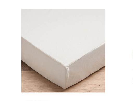 Protège matelas coton bio naturel 60x120 imperméable et respirant