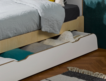 Tiroir de lit Songe 90x190 cm
