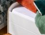 Lit gigogne avec matelas 90x190 cm
