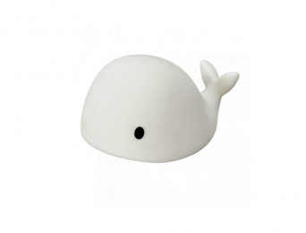 Mini Lampe Veilleuse Baleine Blanche