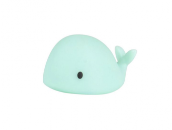 Mini Lampe Veilleuse Baleine Verte