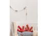 Guirlande décorative Poisson. Coussin Corail en option.