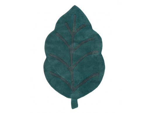 Tapis feuille verte Prunus