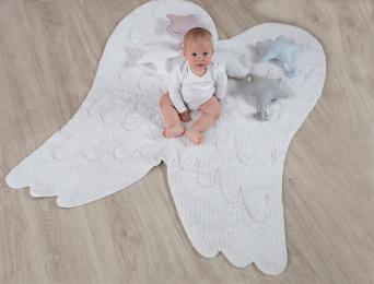 Tapis Lavable ailes d'ange 120x180