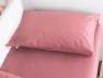 Taie oreiller 40x60 Bois de rose coton bio