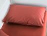 Taie oreiller 40x60 Terracotta coton bio