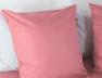 Taie oreiller 60x60 Bois de rose en coton bio
