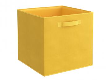 Boîte de rangement KUB Jaune Banane