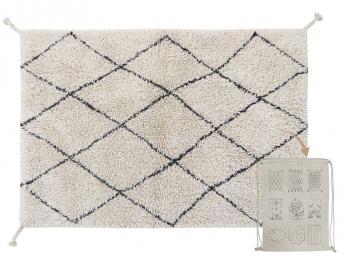 Petit tapis berbère losange