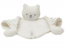 Doudou triangle Ours blanc
