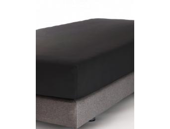 Drap housse Jersey Carbone  Coton Bio 90x190