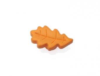 Bouton Feuille orange