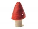 Lampe Veilleuse petit champignon rouge