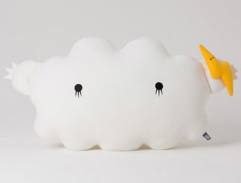 Doudou Cloud blanc Medium