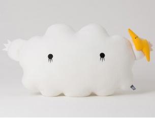 Doudou Cloud blanc Medium
