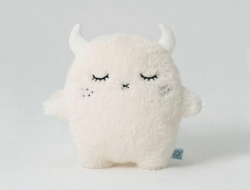 Doudou Ricepuffy Blanc 22cm