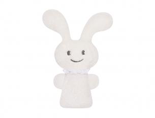 Mini hochet Funny Bunny 16cm Blanc