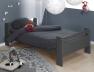 Avec le lit superposé enfant London Anthracite 90/190 vous pouvez faire un lit mi-hauteur et un lit bas
