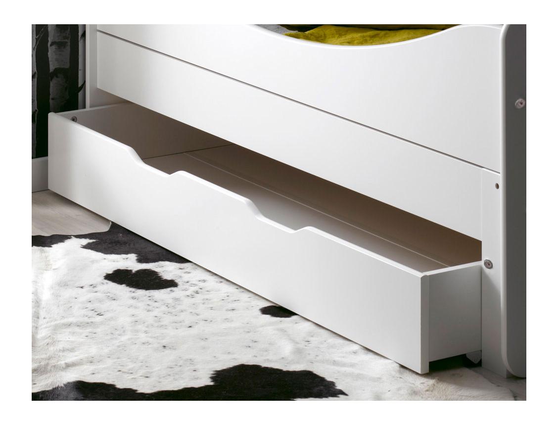 tiroir de lit rangement blanc feroe. Black Bedroom Furniture Sets. Home Design Ideas