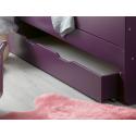 Tiroir de lit enfant évolutif Féroé Violet