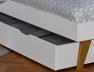 Tiroir du lit Bloom blanc 90x200