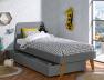Tiroir du lit enfant Bloom Gris Flanelle 90x200. Découvrez le lit Bloom sur notre site.