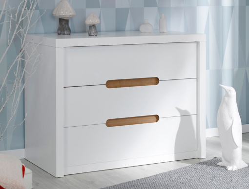 Commode enfant Milo blanc
