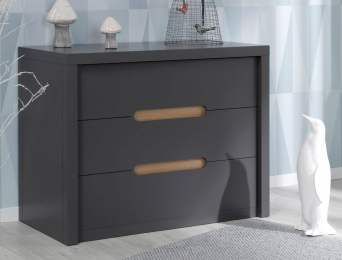 Commode enfant Milo anthracite