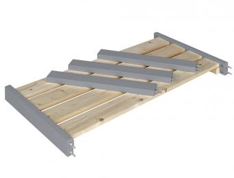 Extension pour lit cabane évolutif Capsule gris Flanelle