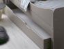 Possibilité de rajouter un tiroir au lit évolutif Féroé Lin