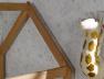 Lit cabane en maison en bois pour enfant