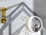Lit cabane évolutif Capsule gris Flanelle + Matelas 90x140